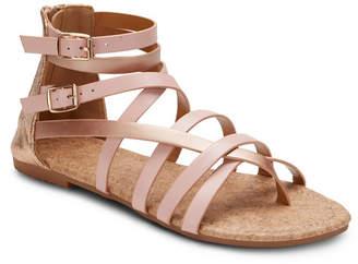 OLIVIA MILLER Modern Romance Two Tone Sandals Women Shoes