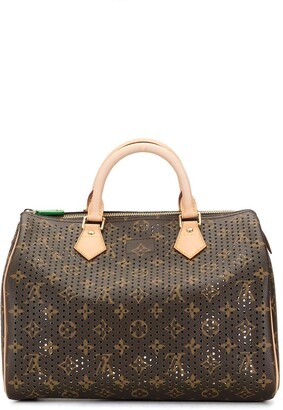 Louis Vuitton 2006 pre-owned perforated Speedy 30 tote bag