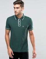 Original Penguin Polo With Pocket And Tip Collar