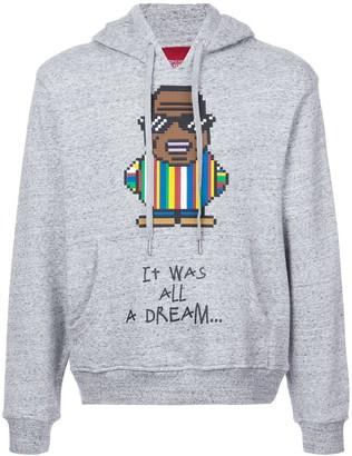 Mostly Heard Rarely Seen 8-Bit Big Papa print hoodie