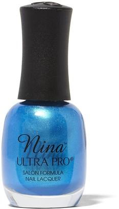 Nina Ultra Pro Nail Lacquer Neons Caribbean Blue