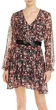 Marella Teresa Ruffled Long Sleeve Dress