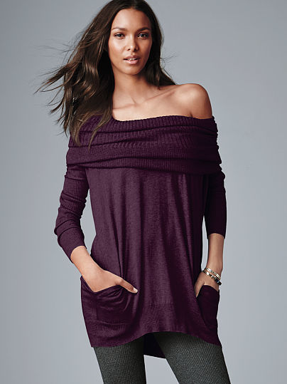 Victoria's Secret A Kiss of Cashmere The Multi-way Sweater