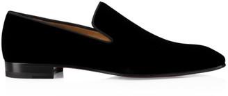 Christian Louboutin Dandelion Velvet Flats