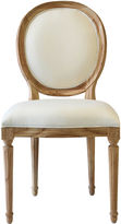 Ave Home Octavia Side Chair, Natural