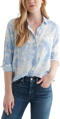 Lucky Brand Classic Cotton Blend Button-Up Shirt