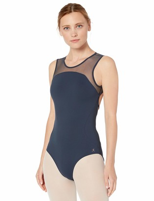 Danskin Women's High Neck Dance Leotard
