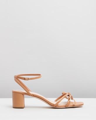 Loeffler Randall Gracie Skinny Strap Bow Low Heels