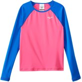 Speedo Girls' Long Sleeve Rash Guard (716) - 8154739