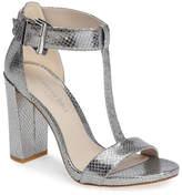 Kenneth Cole New York Daisy Snake Embossed T-Strap Sandal