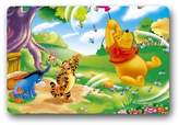 "OneTwoThree Winnie The Pooh Bear Tiger Eeyore Custom Durable Doormat 23.6 ""x15.7 """