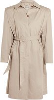 Balenciaga Cotton-twill Trench Coat - Beige