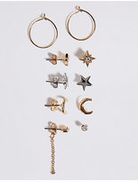 M&S Collection Multi Pack Earrings Set