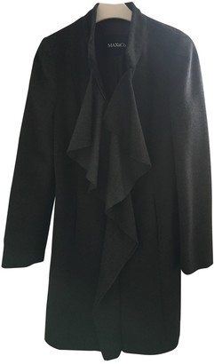Max & Co. Anthracite Wool Coat for Women