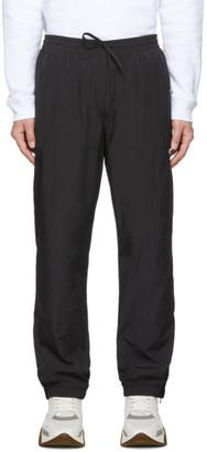 MSGM Black Nylon Track Pants