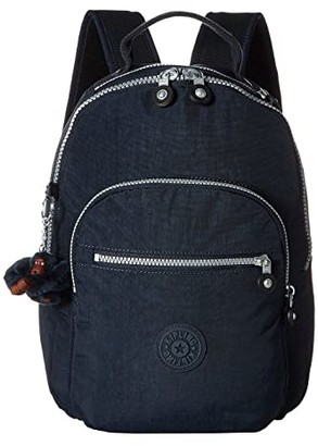 Kipling Seoul Go S Backpack (True Blue) Backpack Bags
