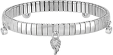 Nomination Stainless Steel Women's Bracelet w/Sterling Silver Wing and Cubic Zirconia