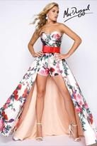 Mac Duggal Prom - 79097 Bustier Gown In Floral Romance