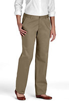 Lands' End Juniors' Stain Resist Chinos-Khaki