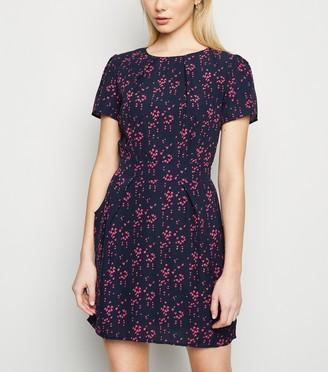 New Look Heart Print Tulip Dress