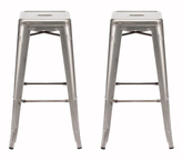ZUO Marius Barstool - Set of Two