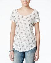 Lucky Brand Paisley-Print T-Shirt
