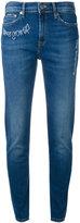 Mira Mikati embroidered jeans - women - Cotton/Spandex/Elastane - 40