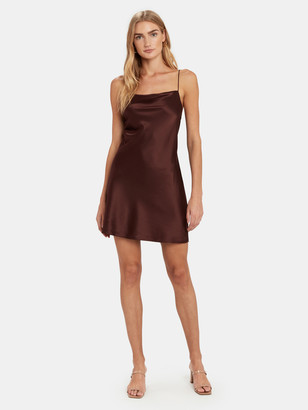 CAMI NYC The Axel Silk Mini Dress