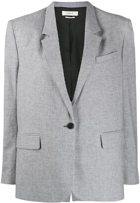 Etoile Isabel Marant Oversized One-Button Blazer
