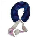 Fendi Blue Fur Scarves