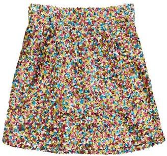 ATTICO Sequinned Mini Skirt - Multi