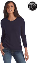 Lord & Taylor Fall Bold Collection Cashmere Crewneck Pullover Sweater