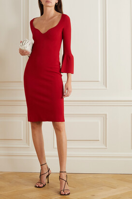 Stella McCartney - Stretch-knit Dress - Red
