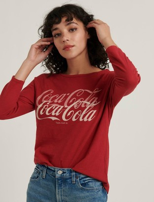 Lucky Brand Coca-Cola Raglan Tee