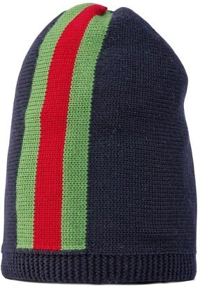 Gucci Kids Web knit beanie