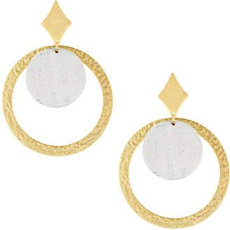 Stephanie Kantis Tri Hoop-Drop Earrings