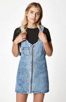 PacSun Overall Denim Dress