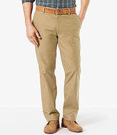 Dockers The Broken In Washed Khaki Soft Stretch Straight-Fit Pants