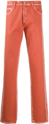Heron Preston Acid-Washed Straight-Leg Jeans
