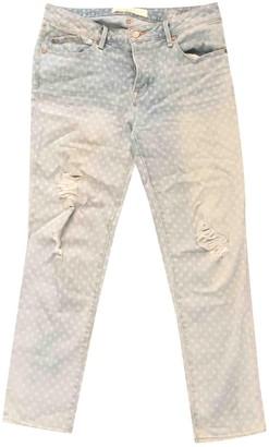Marc by Marc Jacobs Blue Cotton Jeans