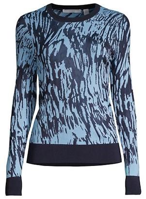 HUGO BOSS Feby Print Sweater