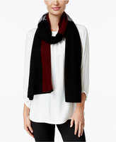 Charter Club Cashmere Colorblocked Scarf, Only at Macy's