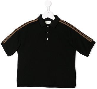 Fendi Kids Logo Detail Polo Shirt