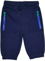 Stella McCartney Jack Fleece Drawstring Sweatpants, Midnight Melange, Size 9-24 Months