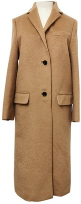Valentino Camel Wool Coat for Women