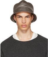 Rick Owens Grey Gilligan Bucket Hat