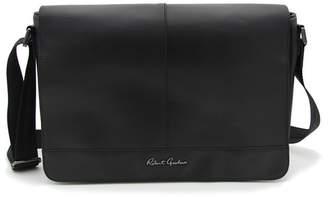 Robert Graham Hearst Black Magnetic Flap Messenger Bag