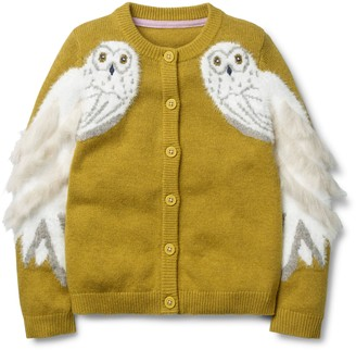 Boden Mini Harry Potter Hedwig Cardigan