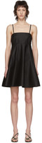 3.1 Phillip Lim Black Spaghetti Strap A-Line Dress