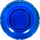 Mikasa French Countryside Cobalt Glass Charger Platter